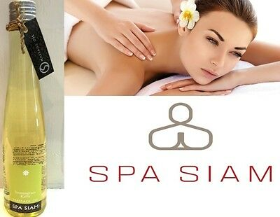 Spa Siam Lemongrass Kaffir Massage Oil Bath Body Dry Normal Skin 200ml