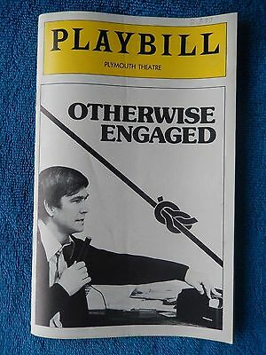 Otherwise Engaged - Plymouth Playbill - Opening Night - February 2nd, 1977
