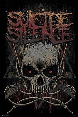 Suicide Silence Poster New  !