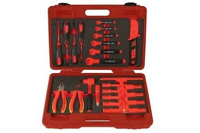 "Laser 6150 Insulated Tool Kit 3/8""D 25pc"