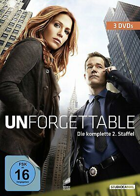 Unforgettable - Die komplette Season/Staffel 2 # 3-DVD-BOX-NEU