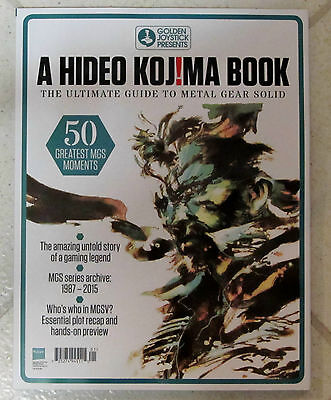 HIDEO KOJIMA Book UNTOLD STORY Of Gaming LEGEND Guide To METAL GEAR SOLID Series