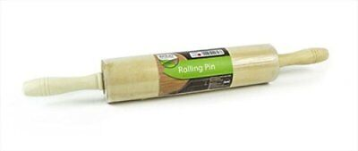 Natural Wood Collection Rolling Pin - Size: 44cm x 6cm x 6cm Approx