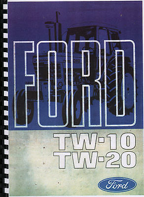 Ford TW-10-TW-20 Tractor Operator Manual