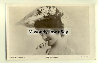 b1866 - Stage Actress - Ada Reeve - postcard