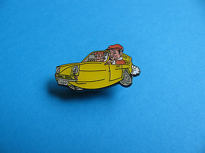 Only Fools And Horses Reliant Pin Badge. Delboy & Rodney Trotter. Enamel.