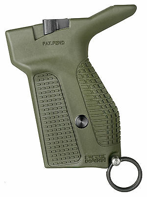 PMG Fab Defense Green Polymer Makarov PM/PPM Release Grip With Safety Cord Ring