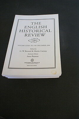 The English Historical Review Volume 123  No 505 December 2008