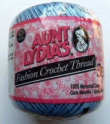 Aunt Lydia's Fashion Crochet Thread Size 3  Choice Of Colors