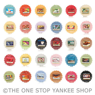 Yankee Candle Scented Tart Wax Melts Variety SAVE 20% When you buy 4 or more