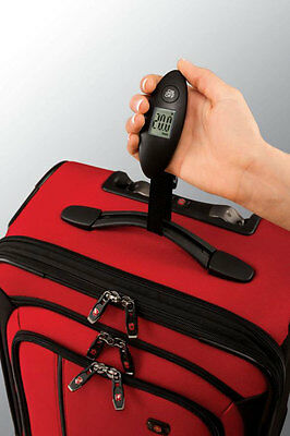 Victorinox Travel Gear Digital Luggage Scale Travel Packing Accessory - Black