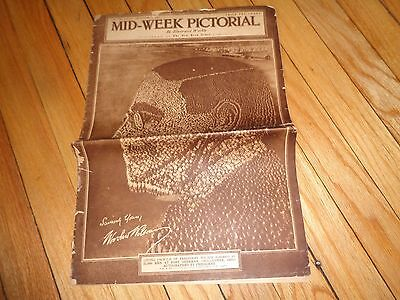 New York Times Mid-Week Pictorial December 19 1918 WWI Content