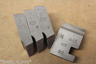 """Alfred Herbert 1/2"""" x 14 Tpi BSP Coventry Die Chasers For 1"""" Head CD146"""