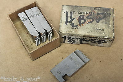 """Alfred Herbert 1 1/2"""" x 11 Tpi BSP Chasers For 2 1/2"""" FT Coventry Die Head CD160"""