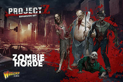 Warlord Games BNIB Project Z - Zombie Horde Expansion WGZ-ZOM-01