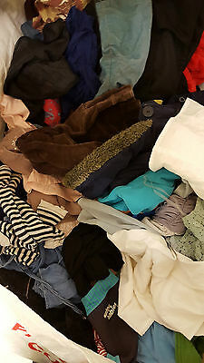 Job Lot Batch Bundle Of 60 Pcs Mixed Clothing Kids & Adults Mainly Used Some New