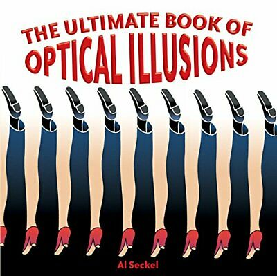 The Ultimate Book of Optical Illusions by Seckel, Al Paperback Book The Cheap