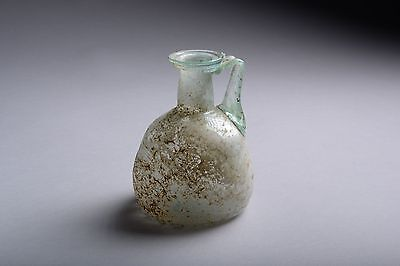 Ancient Roman Glass Jug - 200 AD