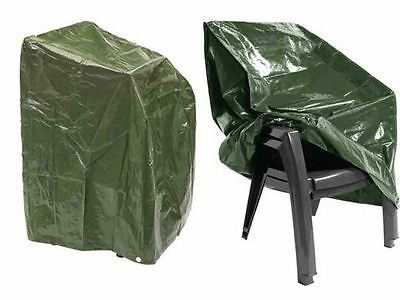 Heavy Duty Waterproof Outdoor Garden Furniture Stacking Chair Cover For 6 Chairs