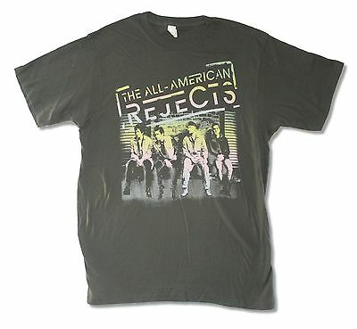 All American Rejects On Deck 2012 Tour Charcoal Grey T Shirt Kids In The Street