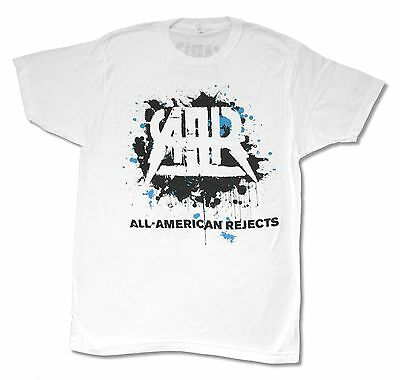 All American Rejects Splatter 2012 Tour White T Shirt Kids In The Street