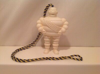 Vintage MICHELIN Bibendum Lanyard Ink Pen Figure! His Legs Are Pens! W66