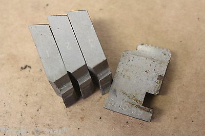 """SKF 1/2"""" x 16 Tpi BSF Coventry Die Chasers For 3/4"""" Head CD193"""