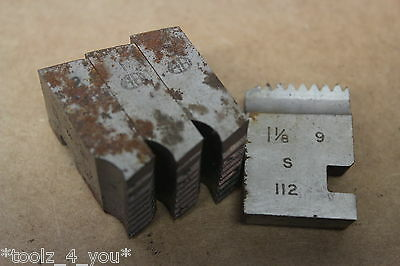 "Alfred Herbert 1 1/8"" x 9 Tpi BSF Coventry Die Chasers For 1 1/4"" Head CD208"