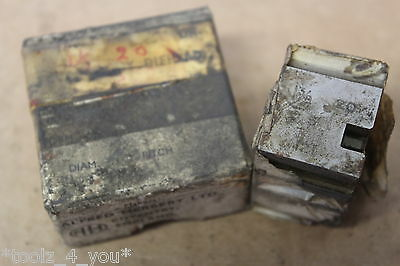 """Alfred Herbert 1 3/8"""" x 20 Tpi WHIT FORM Coventry Die Chasers 1 1/4"""" Head CD241"""