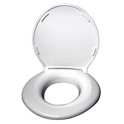 Big John Products 2445646-1W Toilet Seat with Cover White