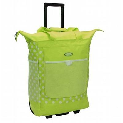 Luggage America RS-100-LM Sports Plus Rolling Shopper Tote