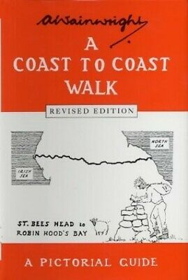 Wainwright's Coast to coast Walk by A. Wainwright Hardback Book The Cheap Fast
