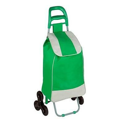 Honey-Can-Do CRT-03935 shopping trolley Green large stair navigator, green