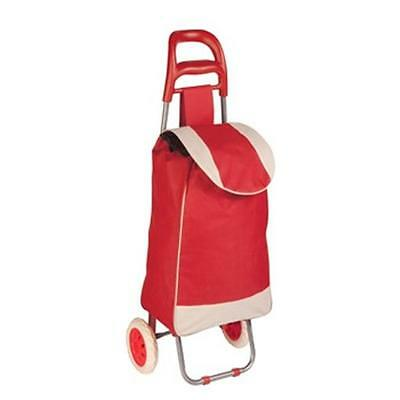 Zevro CRT-04790 Rolling Fabric Cart Red