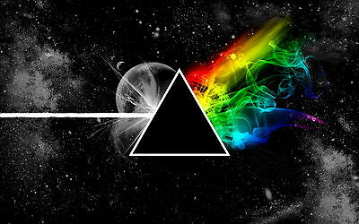 Stylized The Dark Side Of The Moon Men T-Shirt Tee S M L XL 2XL 3XL