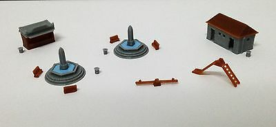 Outland Models Railway Park & Plaza Accessories Fountain Toilet... Z Scale 1:220