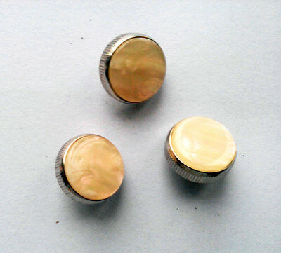 Trumpet Valve Finger Buttons Repair Parts Set of 3
