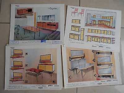 catalogue vintage meuble FORMICA - VIDAL  ANNEE 1962 ( ref 22 )