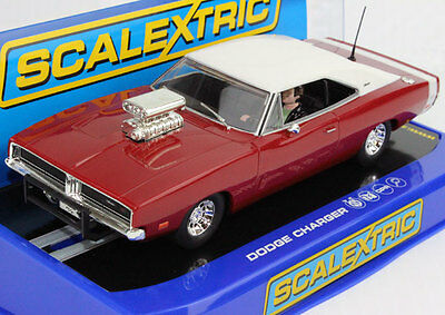 Scalextric C3317 Dodge Charger Hot Rod Slot Car 1/32 for Carrera SCX