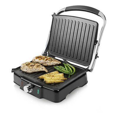TOWER T27011 Health Grill with 2000W and Drip Tray in Black