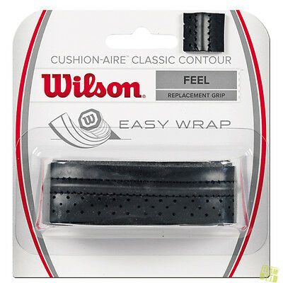 Wilson Griffband Replacement Grips Feel CUSHION-AIRE CLASSIC CONTOUR schwarz
