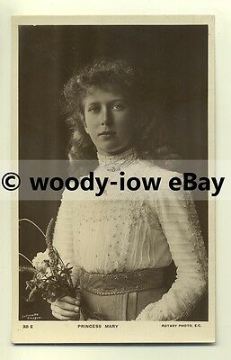 r0091 - Princess Mary daughter of King George V - postcard