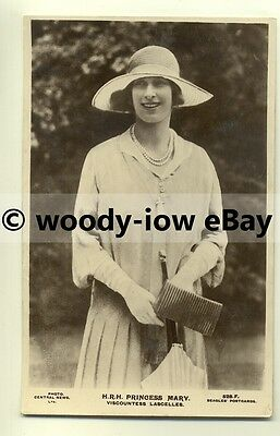 r0104 - Princess Mary , daughter of King George V - postcard