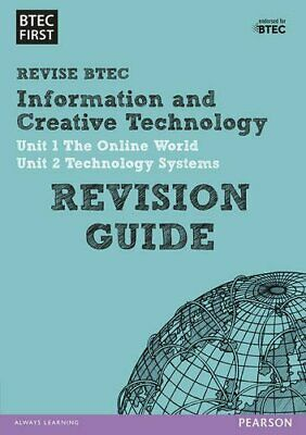 BTEC First in I&CT Revision Guide (BTEC First IT) Book The Cheap Fast Free Post