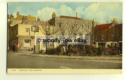 tp8532 - London - View of The Old Flask Inn on Roadside, at Highgate  - Postcard