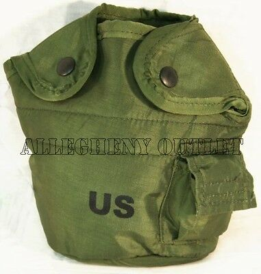 LOT OF 2 NEW US Military 1QT ALICE Canteen Pouch With Alice Clips Canteen Covers