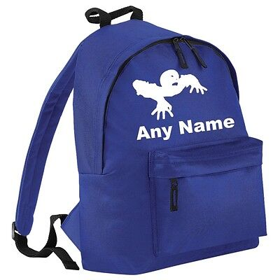Personalised ZOMBIE Backpack/School/PE Bag. Choice Of Colours.