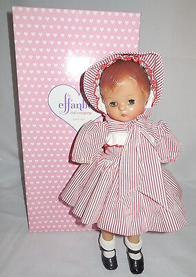Reproduction Effanbee Patsy Joan Doll for Parts Repair Clothes Shoes Box NO ARMS