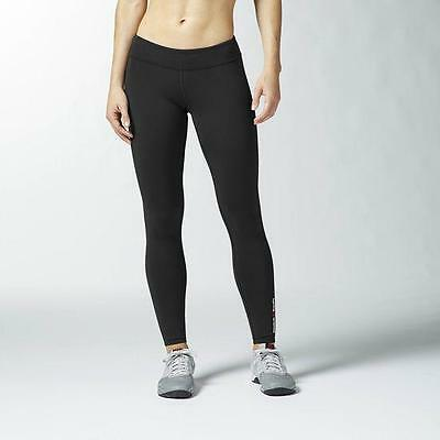 Women's Reebok Crossfit Chase Tights AC6058 Training Fitness Yoga Black