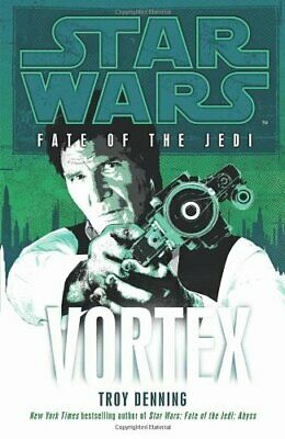 Star Wars: Fate of the Jedi - Vortex by Denning, Troy Hardback Book The Cheap